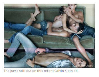 Calvin Klein Foursome may be too hot for some