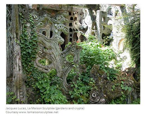 Jacques Lucas Maison Sculptée Crypt