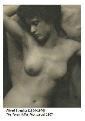 Alfred Stieglitz The Torso Miss Thompson