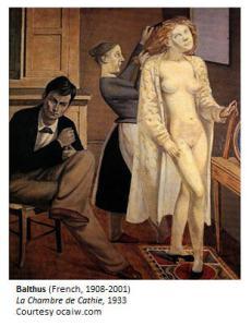 Balthus La Chambre de Cathie 1933 (Cathie's Room)