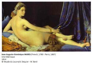 INGRES Une Odalisque 1814