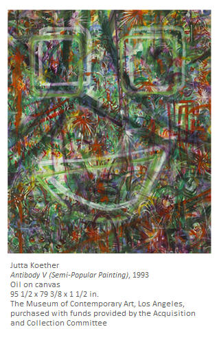 Jutta Koether Museum of Contempoary Art Los Angeles