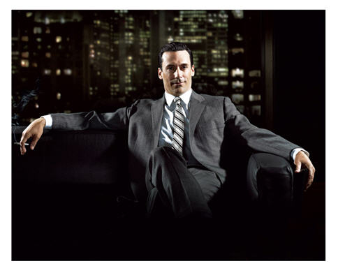 Mad Men character Don Draper epitomizes cool and power