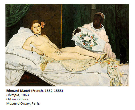 Manet Olympia 1863