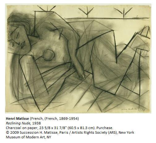 Henri Matisse Reclining Nude 1938