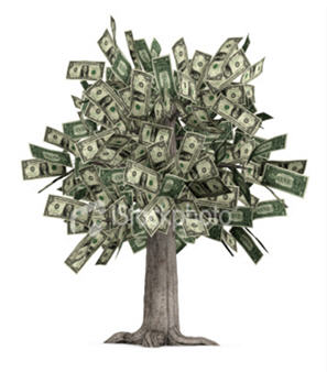 Money does grow on trees, for some professions
