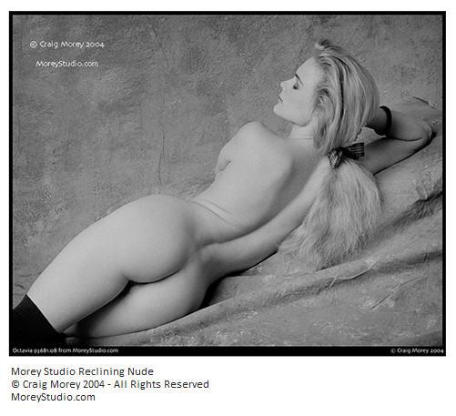 Morey Studio Reclining Nude