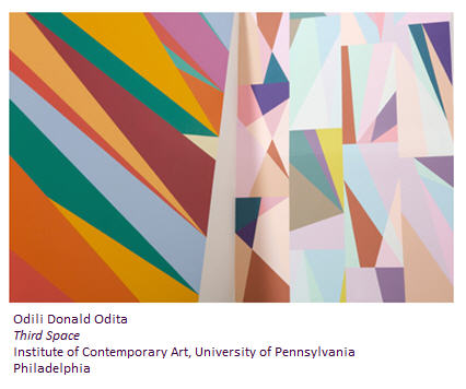 Odili Donald Odita at ICA Philadelphia