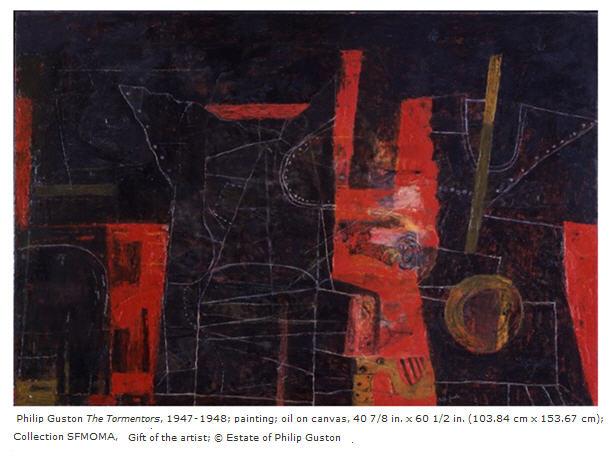 Philip Guston The Tormentors 1947-1948