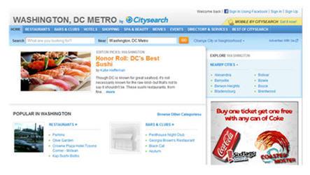 Washington DC CitySearch