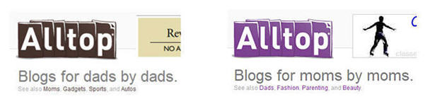 Blogs for DADs and MOMs Alltop After