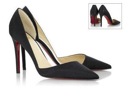 En rouge, ce sont les plus belles chaussures que j'ai jamais essayées : Helmut 100 de Christian Louboutin