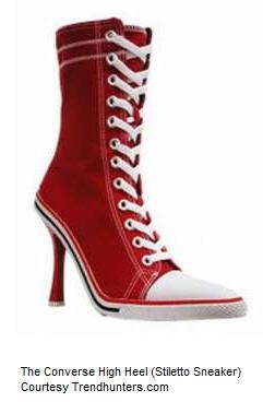 Converse High Heel Sneaker