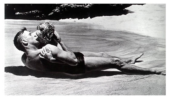 Famous scene 1953 From Here to Eternity