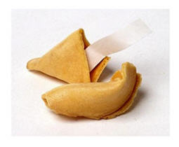 fortune cookie - what it you could write your own fortune?