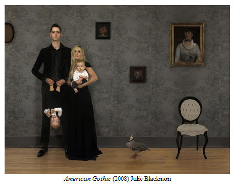 Julie Blackmon American Gothic