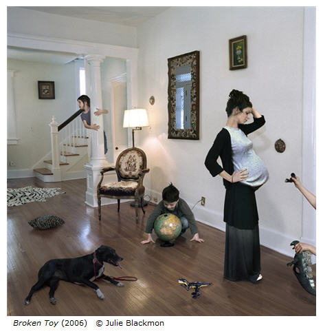 Julie Blackmon: Broken Toy - from Domestic Vacations series