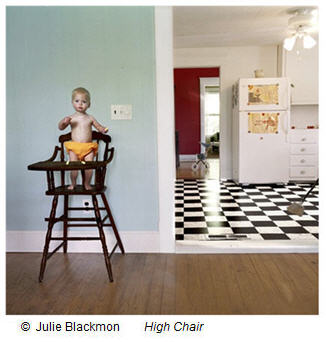 Julie Blackmon : High Chair (from the Domestic Vacation series)