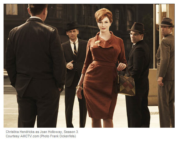 Mad Men Photo character Joan Holloway turns heads