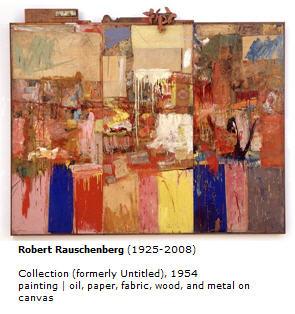 Rauschenberg Collection, 1954 SFMOMA