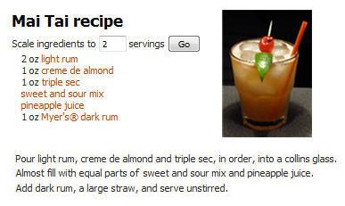 The Perfect Mai Tai Recipe courtesy of DrinksMixer dot com