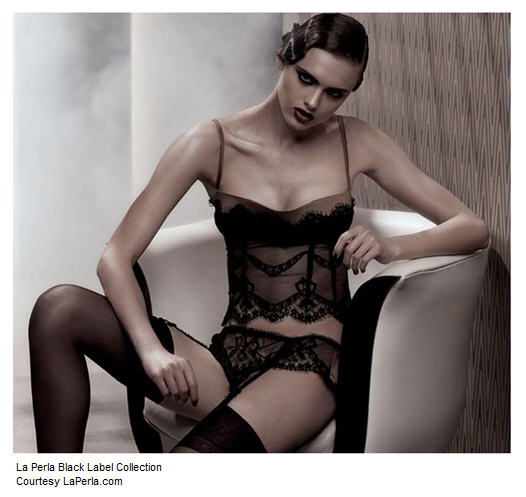 This LaPerla lingerie would fit many types, and many ages!
