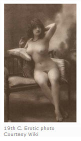 19th century European erotic photo is a bit more enticing than pioneer erotica.