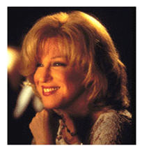 Bette Midler smiling