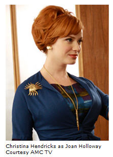 Christina Hendricks as Mad Men's magnificent Joan Holloway