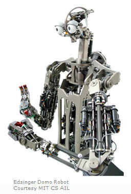 Edsinger Domo Robot courtesy MIT CS AIL