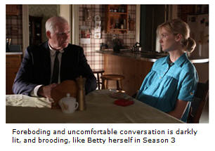 Gene and Betty have an uncomfortable conversation.