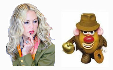 Has Rachel Zoe been styling Mr. Potato Head?