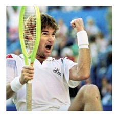 Jimmy Connors US Open 1991