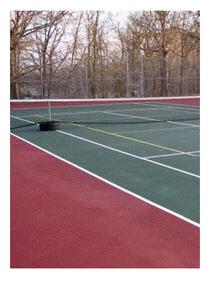 local tennis court