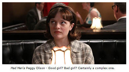 Mad Men's Peggy Olson character is wonderfully complex.