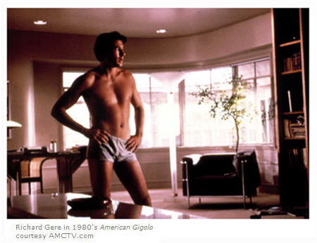Richard Gere in American Gigolo courtesy AMCTV