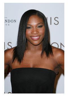 Serena at play