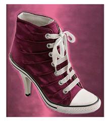 High Heel Sneaker Shoes For Women