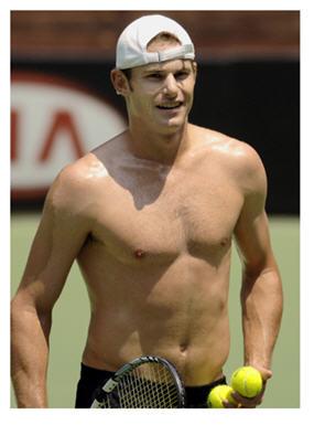 tennis Andy Roddick looking cute