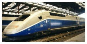 TGV (Trains à Grande Vitesse) : travels more than 300 mph