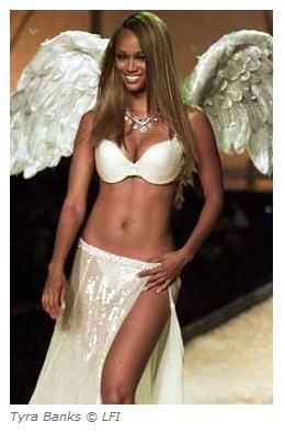 tyra banks as victorias secret angel courtesy vogue dot com