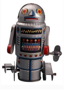 We may be raging robots most of the time but we get wound up and worn down.