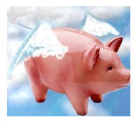 I won't feel like writing when pigs fly...