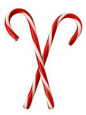 Candy canes already? But it's only November - and barely!