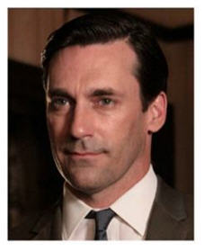 Don Draper played by Jon Hamm in AMCTV's Mad Men is mired in his own prejudice, power plays and pretense.