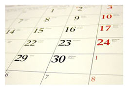 There are dates for celebrating and dates that hurt...