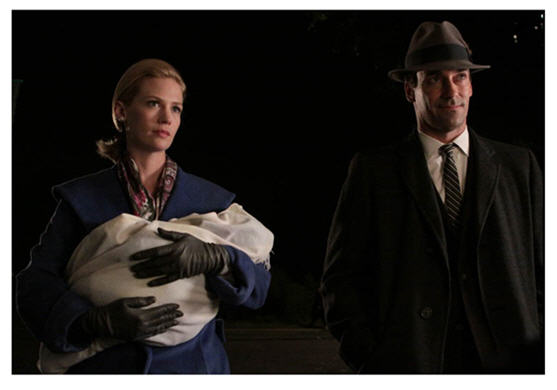 Closing scene of Mad Men Episode 11 Gypsy and Hobo